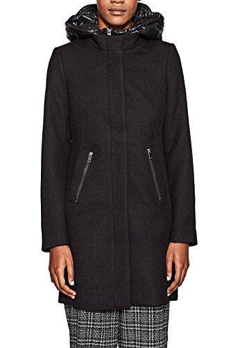 ESPRIT Collection Damen 127EO1G008 Jacke, 001/BLACK, Medium