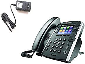 $142 » Poly/Polycom VVX 411 VoIP Phone Bundle with ATHQ Power Supply
