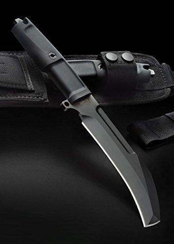Couteau de poche eaux usées Extrema Ratio MF1 Couteau pliant couteau de chasse couteau d'extérieur Ritter Moyen-âge Survival verschiedende couleurs à partir de 18 ans M Schwarz