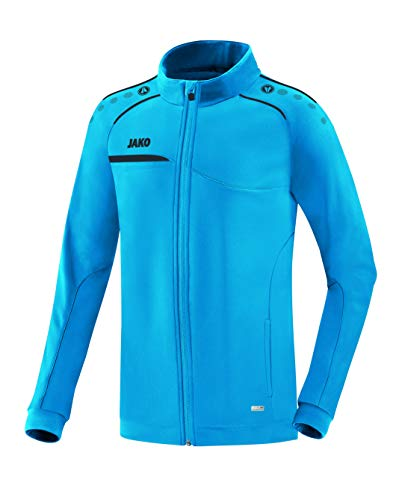 Jako Herren Prestige Polyesterjacke Jacke, blau/anthrazit, L