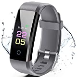 ANCwear Fitness Trackers- Activity Tracker <span class='highlight'>Watch</span> with Heart Rate Blood Pressure Monitor, Waterproof <span class='highlight'>Watch</span> with Sleep Monitor, Calorie Step Counter <span class='highlight'>Watch</span> Compatible Android iPhone <span class='highlight'>Smart</span>phone
