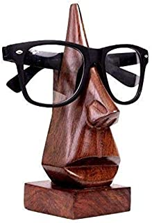 wooden glasses stand