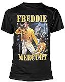 after Queen 'Freddie Mercury' T Shirt Camisetas y Tops(Large)