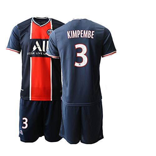 JEEG 20/21 Herren KIMPEMBE 3# Fußball Trikot Fans Jersey Trainings Trikots (S)