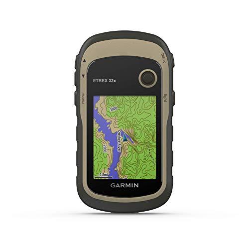 Garmin - eTrex 32x - GPS de randonne avec cartographie TopoActive Europe prcharge avec routes et sentiers routables - Compas lectronique et altimtre baromtrique - Vert