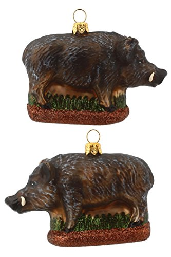 Hamburger Weihnachtskontor - Christbaumschmuck - Wildschwein