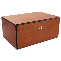small Savoy by Ashton Large Pear Humidor Capacity 100 Cigars