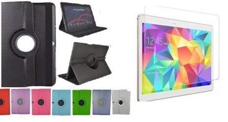 Theoutlettablet® Schutzhülle für Tablet BQ Aquaris M10 von 10,1Zoll/25,7cm, um 360Grad drehbar, Schutz vorne & hinten
