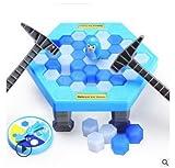 Ndier 1pc Trap Juego Ice Rupture Save Penguin (Grasa 25.5 * 25.5 * 6cm)