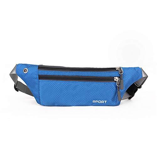 Outdoor Running Sports Taschen, Wasserdichte Brusttaschen, Multifunktionale Anti-Diebstahl Wechselgeld Handytaschen, Atmungsaktive Messertaschen