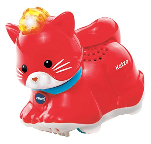 VTech Baby 80-188504 - Tip Tap Animaux - Chat - Rouge