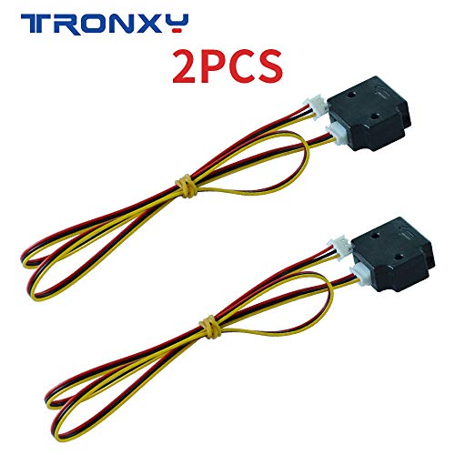 Tronxy 3D Printer Filament Run Out Detection Module Automatically Pause Suitable For 3D Printer Lerdge Board 1.75mm PLA ABS Filament(2 PCS)