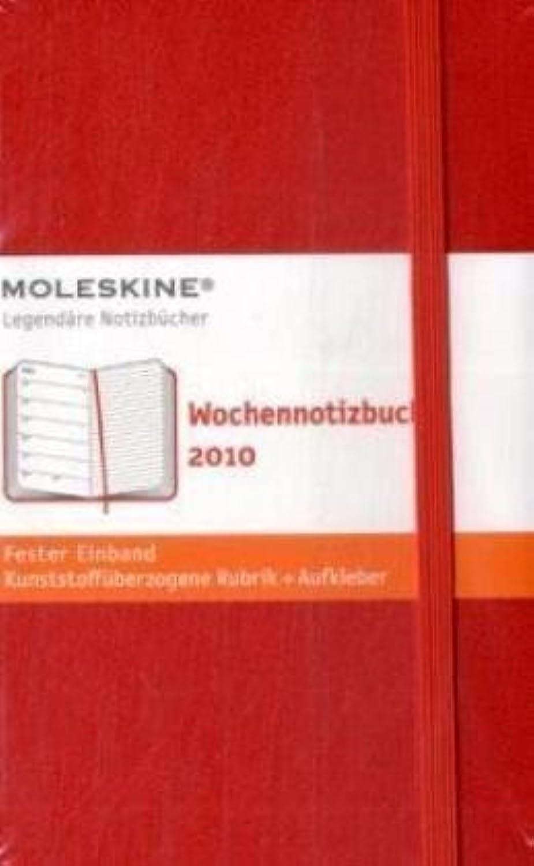 Moleskine Weekly Notebook 2010 12 Month rot Hard Pocket (Moleskine (Moleskine (Moleskine Diaries) by Moleskine(2009-06-10) B074R9LM9S  | Ausgewählte Materialien  1bb207