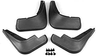 Set of Black Mud Flaps Splash Guards Fender Front + Rear For Chevy Cruze 2009-2016