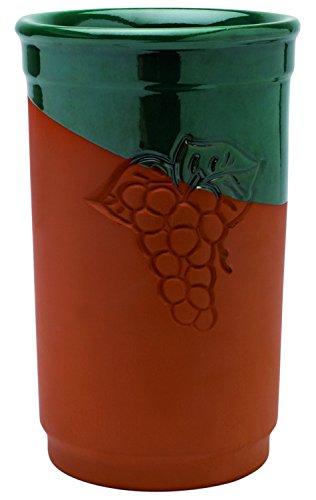 Visiodirect Lot de 6 Briques à vin 13 x 21,5 cm en céramique
