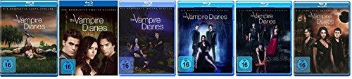 Blu-ray Set * The Vampire Diaries Staffel/Season 1+2+3+4+5+6