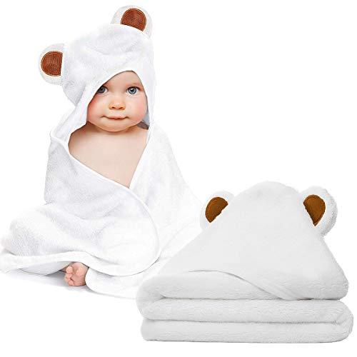 Baby Towel and Washcloth Set-Baby Bath Towel and Washcloth...