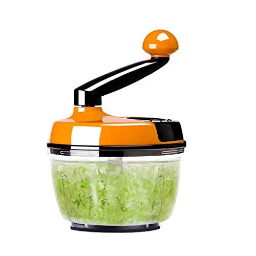 Yaeele Manual de la máquina de cortar máquina de picar carne cortador de vegetales fritos con poco aceite de máquina que tuerce la máquina de cortar la máquina de hogar de múltiples funciones cocina a