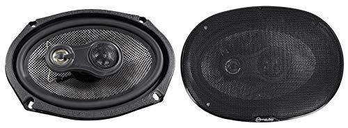American Bass Usa SQ 6x9 200 Watt 3-Way Coaxial Speakers