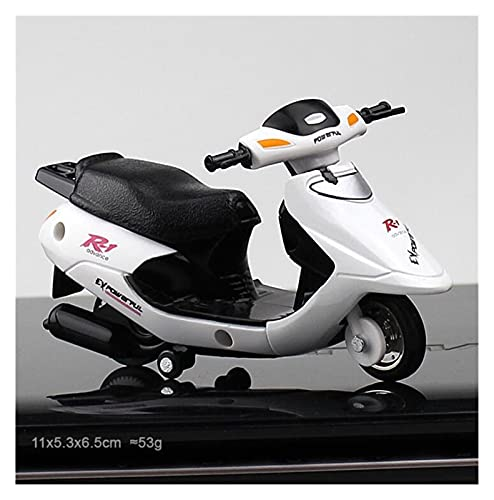 1:18 Mini Model Motorcycle Diecast Pocket Portable Finger Mountain Bike Off-road Vehicle Simulation Collection Toys For Children (Color : Red)