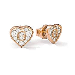 Rose Gold Earrings Studs Female Guess