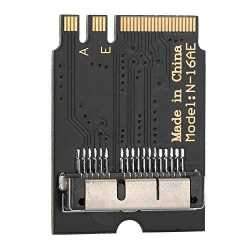 Vipxyc Adapterkarten-Erweiterungskarte für Hackintosh Free-Drive BCM943224PCIEBT2 BCM94360CD auf A E-Schlüsselübertragung