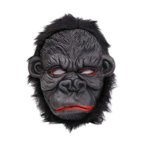 PRETYZOOM Orang-Utan - Mscara para disfraz de carnaval, para carnaval, Halloween, (Smile Orangutan)
