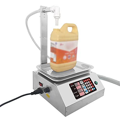 LMEILI Máquina De Llenado De Líquido, 110V-220V De Llenado Automático, 0,05 Kg-15 Kg Capacidad De Llenado, Llenado Inteligente CNC, Utilizados para Diversos Salsa De Soja/Vinagre, Varias Botellas