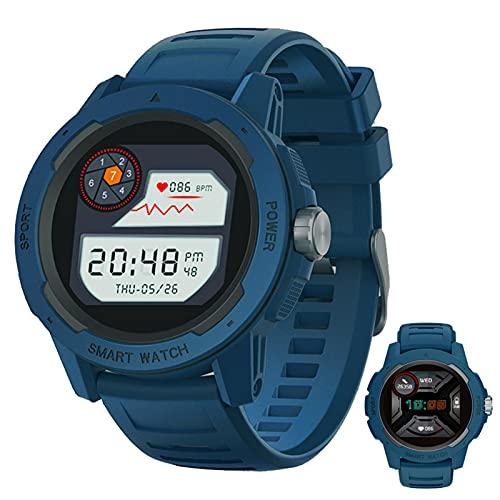 APCHY Smart Watch Reloj Inteligente,Fitness Trackers with Step Calorie Counter Sleep Monitor Activity Tracker,IP67 Impermeable 1.4'Toque Completo, Pedómetro De Pulsera Inteligente,Azul
