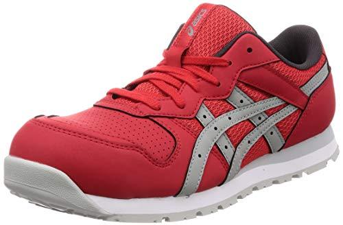 [アシックス] ワーキング 安全靴/作業靴 ウィンジョブ CP208 JSAA A種先芯 耐滑ソール クラシックレッド/ストーングレー 24.5