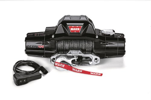 Warn 89611 ZEON 10-S Winch with Synthetic Rope - 10000 lb. Capacity
