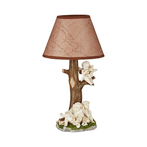 """Stehlampe \""""Engel\"""" Tischlampe Nachttisch Stehleuchte Landhaus Vintage kabellos"""