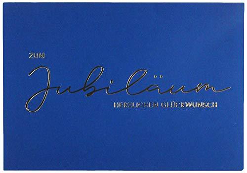 Perleberg Karte zum Jubiläum Lifestyle - Textkarte - 11,6 x 16,6 cm