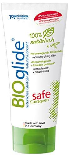 Original BIOglide Safe mit Carragen, hochwirksames Gleitel auf Wasserbasis, 1 x 100 ml