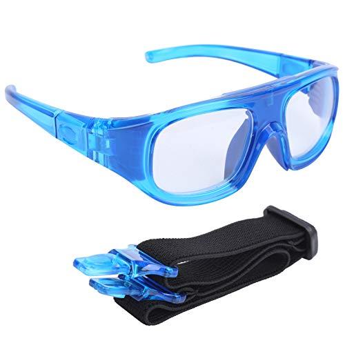 Gafas de Seguridad Gafas Protectoras PC Resistente A La PC Deportes Baloncesto Gafas De Baloncesto Montado En La Cabeza Montaje En Montaña Ciclismo Gafas Protectoras Azul