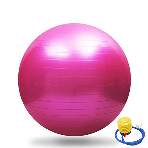 Save %33 Now! SSDXY Anti-Burst Stability Exercise Yoga Ball for Home Office Gym,Thickening Body Bala...