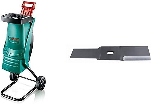 Broyeur rapide Bosch - AXT Rapid 2000 (1 Poussoir, Ø de coupe 35 mm, 2000 W) & F016800276 Lame pour broyeur Pour AXT ...