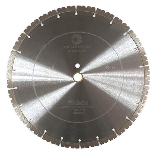 Compatible with Diamond Saw Blade, Whirlwind USA LSA 14 inch Concrete Saw Blade, Segmented Diamond Blades, Dry or Wet Cutting for Stone Brick Masonry Building Materials (LSA 14