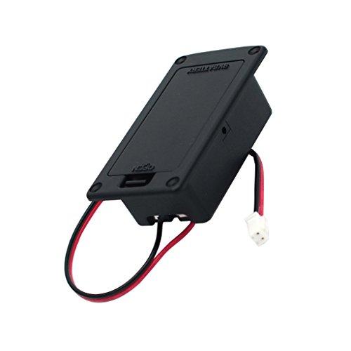 Gitarren-Batteriefach 9V Baterry Box Aktiv-Akkupack E-Gitarren-Zubehör
