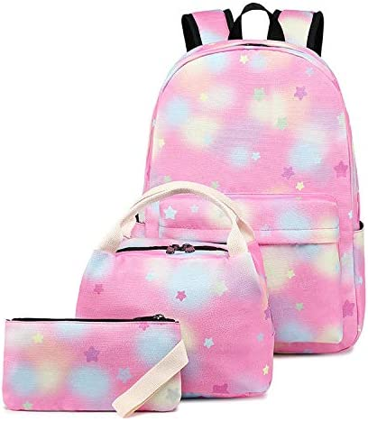 Unisex Backpack for Kids with Lunch and Pouch School Tote New mail order All stores are sold Pencil