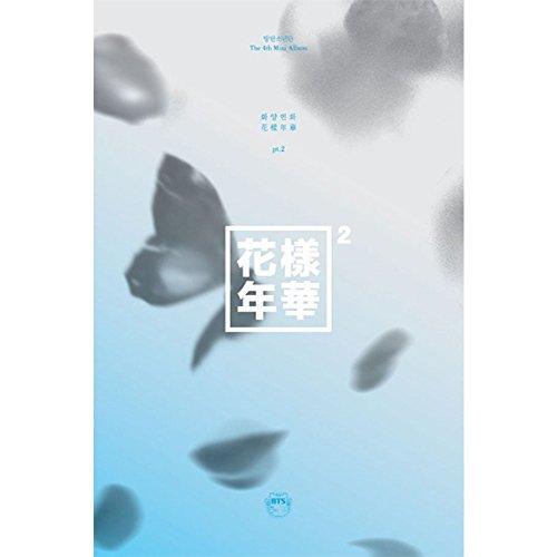BTS–in the Mood for Love Pt. 2[Blue ver.] CD + Fotobuch + Fotokarte + gefaltet Poster + BTS Postkarte + Aufkleber + extra Geschenk Fotokarte