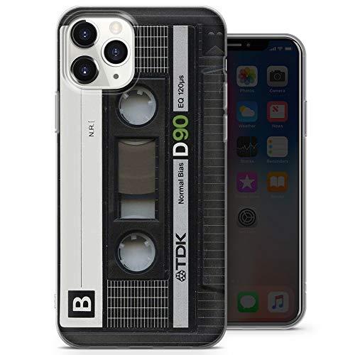 Schutzhülle für iPhone 12, iPhone 12 Pro, dünn, dünn, weich, TPU, Silikon, Design 2, A5, Schwarz / Orange