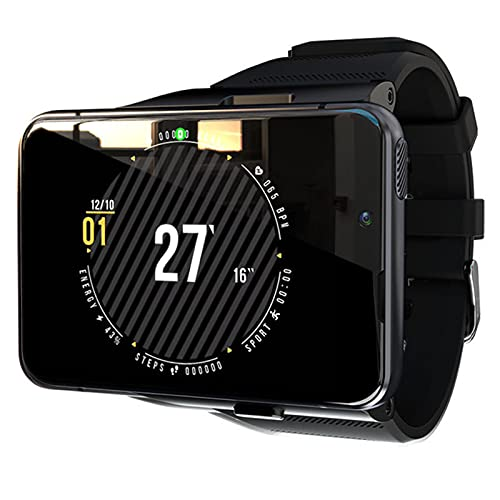 Smart Watch 2.9 Pulgadas 4GB + 64GB LCD Smart Watch 2300Mah Smartwatch Tasa del Corazón 4G GPS Reloj Inteligente,B