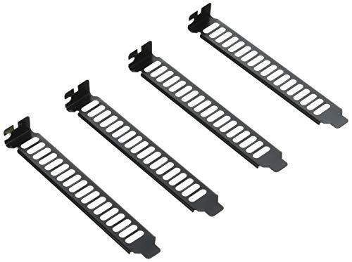 SilverStone Maximum Vented PCI Slot Covers AEROSLOTS-BP (Black)