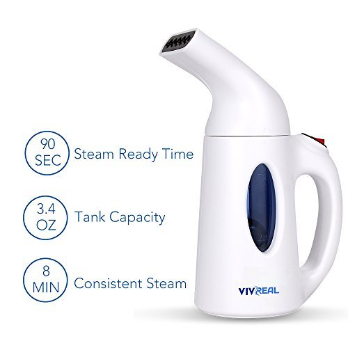 Clothes Steamer - Handheld Garment Steamer with...