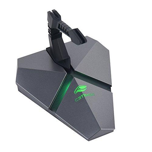 C3TECH MB-200 Mouse Bungee com Hub Leitor MicroSD, Cinza