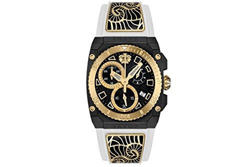 Savoy Damenuhr Icon Light Chrono Enamel Yellow Gold Black C2308E.02B.RA11.B