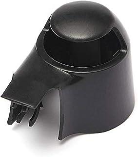 PerfecTech Rear Wiper Blade Cover Cap Black for VW MK5 Golf Polo Passat Caddy Tiguan Touran