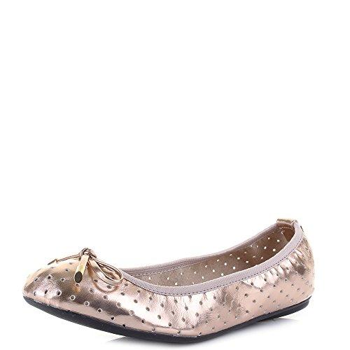 Butterfly Twists Grace, Damen Ballerinas, Pink (rose Gold), 41 EU