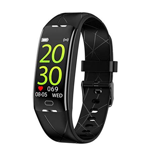 Boyuan Z21 SmartWatch Android iOS Bluetooth Pantalla táctil a Prueba de Agua Monitor de Ritmo cardíaco Medición de la presión sanguínea Podómetro Deportivo Recordatorio de Llamadas Actividad,Negro